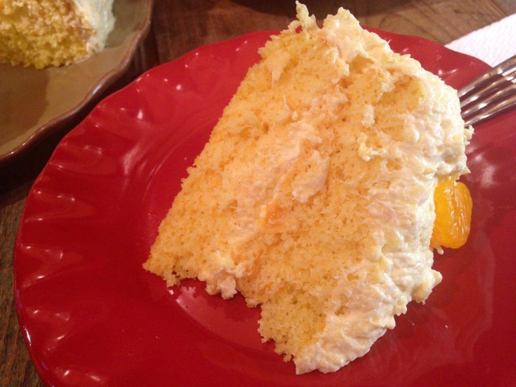 Mandarine Orange Cake