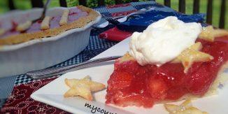 Double Strawberry Glaze Pie