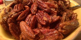 Pumpkin Spiced Toasted Pecans