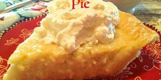 National Coconut Cream Pie Day!!!