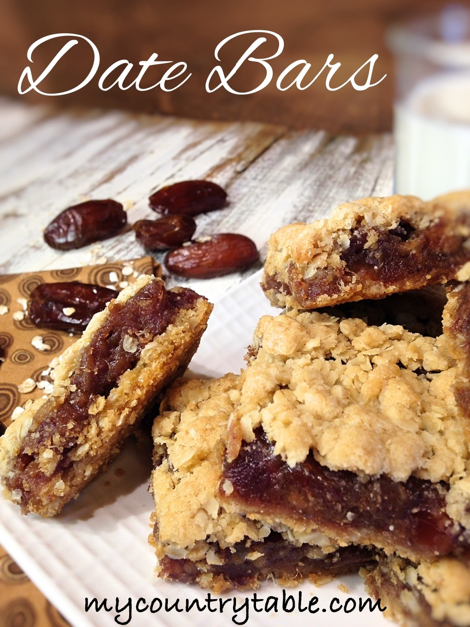 Date Bars - My Country Table