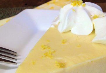 Lemon Velvet Cream Pie
